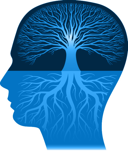 Brain Tree blue