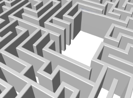 Exclamation maze